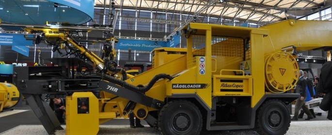 Häggloader 7 HR Bauma 2012