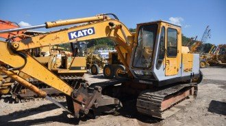 Excavator Kato hd 400 used