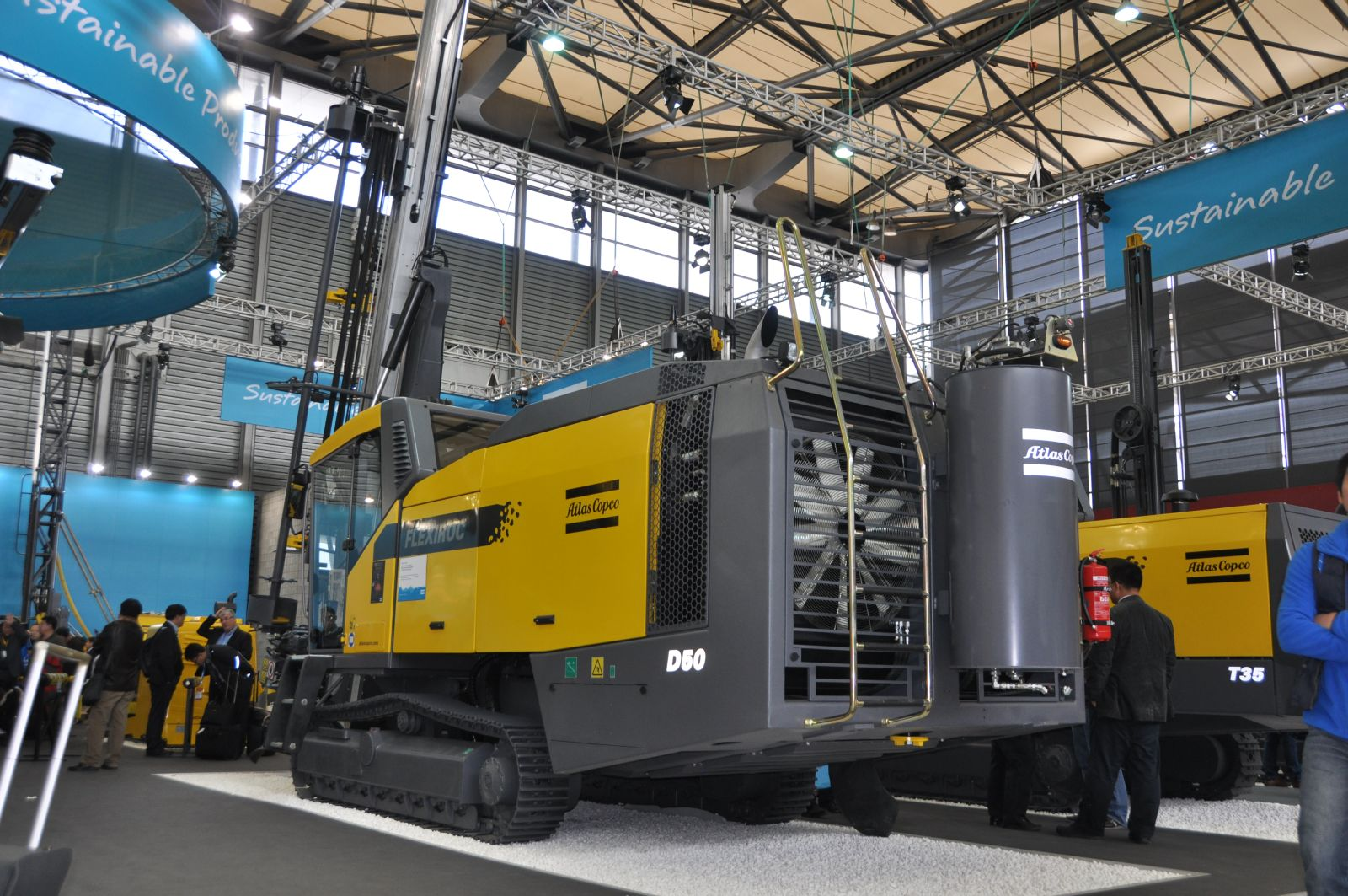 Bauma China Atlas Copco D 50