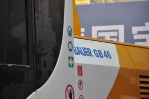 Greiferträger GB 46 Bauer