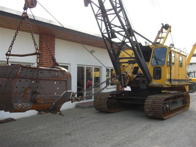 Weserhütte excavator Seilbagger