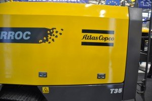 Atlas Copco PowerRoc  T35 rock drill