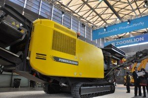 bauma china powercrusher atlas copco