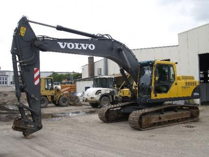 Volvo bagger vertretung