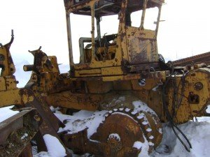 Komastu used Pipelayer dozer