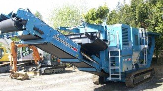 Terex Powerscreen Metrotrak HA Baumschinen gebraucht Recycler