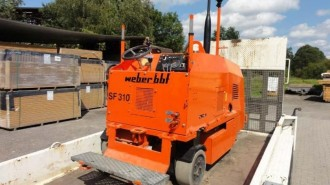 Weber Straßenfräse SF 310 A gebraucht Fraese Straßenfraes Straßenbau Baumaschinen Baugeräte