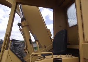 CAT Bagger 215 Führerhaus excavator Caterpillar Raupenbagger Kettenbagger Baumaschine gebraucht Ersatzteile