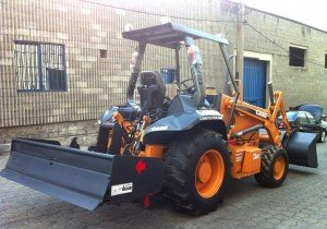 Case 570XLT Baggerlader Bagger Lader Baumaschinen Bilder News Skip Loader Backhoe loader
