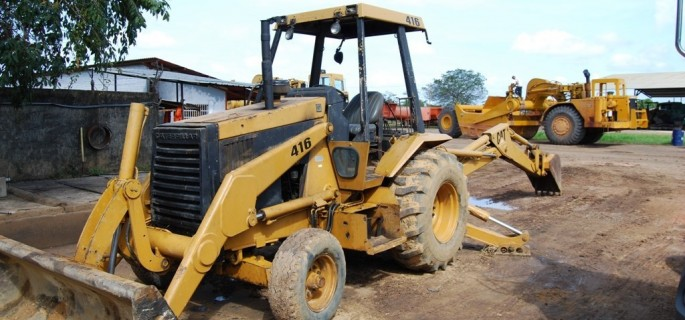 Caterpillar Baggerlader 416 CAT Bagger Lader Baumaschinen Backhoe Loader Heavy Equipment Bagger gebrauchte Baumaschinen Bilder News Baggerlader Ersatzteile